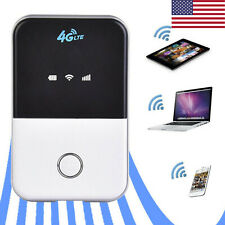 Wireless 4G LTE Wifi Router Portable Unlocked Car Mobile Hotspot SIM Card Slot