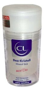 (3,45€/100g) CL Deo-Kristall Mineral Stick Anti-Transpirant 120g