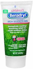 Benadryl Children's Anti-Itch Gel 3 oz (Pack of 3)