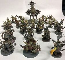 40k Dark Imperium Death Guard- 31 Miniatures - Chaos Space Marines pro- painted
