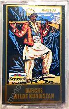 MC • Karl May: Durchs wilde Kurdistan ⭐️ Karussell • Hörspielkassette wie NEU!