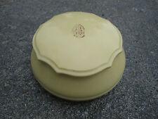 Vintage Ivory Pyralin Du Barry Dubarry Vanity Dresser Set Box powder / trinket
