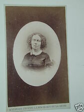 carte de visite  REINE DE HOLLANDE phot M Verveer photo photographie