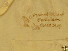 Peanut Island  FL Dedication Ceremony button shirt  medium