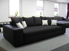 Big Schlafsofa Schlafcouch Sofa Bett Couch Federkern  Liegefläche 170 x 210cm