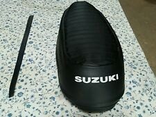 SUZUKI T500 TITAN 1970 TO 1977  SEAT COVER WITH STRAP  BEST QUALITY  (S15)