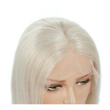 AU STOCK Synthetic Lace Front Wig Heat Resistant Short Straight Blonde Hair Wigs