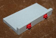 Playmobil pièce system X bordure grise 9 cm maison ref ii