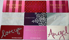 Lot Of 9 Victoria`s Secret Collectible Gift Cards No Value Snowflakes Angel I Do For Sale