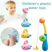 Bath Toys Water Play Fishing Game Cute Floating Swimming Fish Pool Kids M8J3