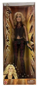 Vintage Latin Musician Shakira Doll by Mattel - New In Package (2002) B4534