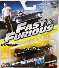 HOT WHEELS 2017 FAST & FURIOUS DODGE CHARGER OFF-ROAD 1970 SCALE 1:55