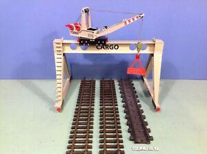 (O4210.7) Playmobil Grue CARGO train ref 4210 4085