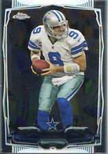 Topps Chrome Football 2014 Veteran Card #77 Tony Romo - Dallas Cowboys