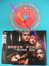 CD Singolo MARIA PIA AND SUPER ZOO Tre fragole 2003 no mc lp dvd (S13)