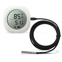 INKBIRD LED Screen Data Logger Temperature Humidity Recorder External Probe Brew
