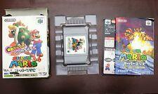 Nintendo 64 Super Mario 64 Rumble Version boxed Japan N64 import game US Seller