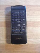 Technics RAK-SL002WH CD Player Remote Control Matsushita *FREE SHIPPING*