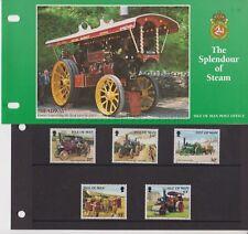 Isle of Man Presentation Pack 1995 Splendour of Steam Stamp Set 10% off 5+