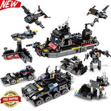 695Pcs Truck Building Blocks Sets Ship Vehicle Technic Bricks Playmobil Toys NEW