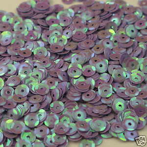 Sequins Lavender Magic 5mm Round Cup ~1,000 or ~12,500 pieces Loose HQ