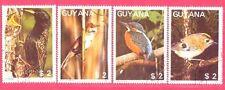 Guyana 1988 Birds Set of 4 - Used