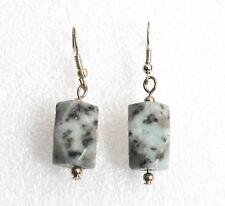 Boucles d'oreilles femme vedes noir et de pierres design seulement neuf eté bobo