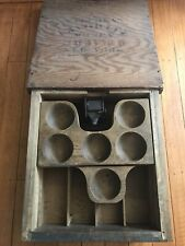 "Vintage General Store Wood Cash Register Drawer Coin Tray 14x15"" Sliding Tray"
