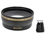 52mm Wide Angle Lens for Sony HDR-PJ710V HDR-CX760V HDR-PJ760V FDR-AX33