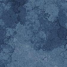Tonal Navy Blue Burlap Textured Look Fabric, Oh My Stars, Benartex (By 1/2 Yard)