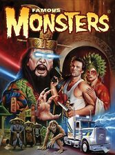 Famous Monsters Big Trouble In Little China by Jason Edmiston 18 x 24 Poster