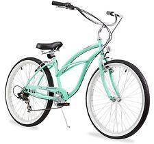 "26"" Beach Cruiser Bike Bicycle Firmstrong Urban women 7 spd Green"