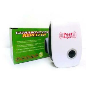 Ultrasonic Mouse Repeller Cockroach Trap Insect Rats Pest Control Device