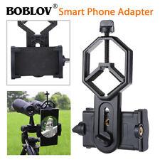 BOBLOV Cellphone Adapter Portable Black For Binocular Monocular Spotting Scope