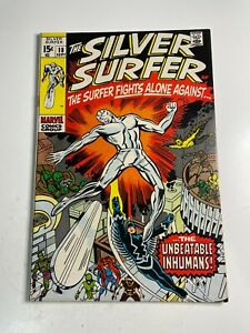 Silver Surfer #18 Siilver Age Marvel Comic Book