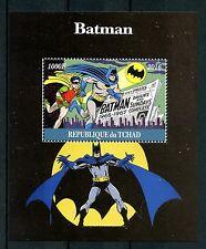 Chad 2016 estampillada sin montar o nunca montada Batman Robin 1v m/s Comics Dibujos Animados Superheroes sellos