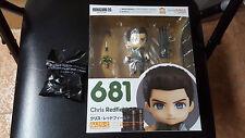 Chris Redfield Nendoroid Resident Evil Biohazard Red Herb Preorder Bonus 1st ED