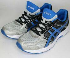 ASICS Gel-Contend 4 Running Shoes Men's Size 12 Black / Blue / Grey