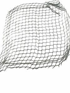 "UK NATO Helmet Net Mesh Nylon Drawstring Unissued 20"" 0.5 sqm Olive Green OD New"