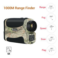 1000M 6x25 Hunting Golf Laser Range Finder High Accurately Flag Lock Fog Mode