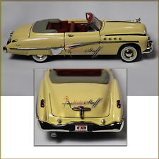 Buick Roadmaster  Convertible 1949, 1/32 scale  Diecast Model Car, Ivory-Yellow