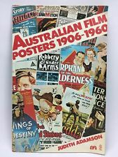 Australian Film Posters 1906-1960 Judith Adamson Large Paperback Illustrated 1st