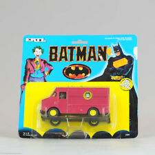 #Antique Batman Toy# Batman JOKER VAN 1989 Ertl Die Cast DC Comics 115mm