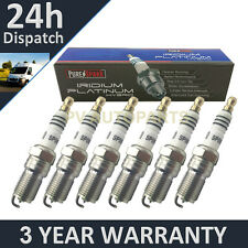 6 x iridium Punta candles for Ford Puma 2.5 v6 24v 1998-2001