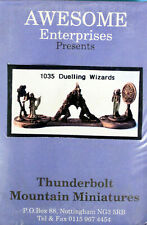 Thunderbolt Mountain Miniatures-Awesome Enterprises-25mm Duelling Wizards-1035