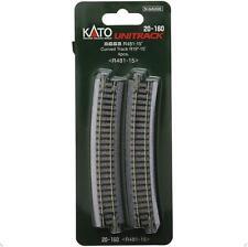 Kato 20-160 Rail Courbe / Curve Track R481mm 15° 4pcs - N