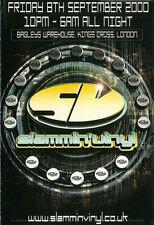 SLAMMIN VINYL - 8TH SEPTEMBER 2000 (HARDCORE CD COLLECTION) (HARDCORE HEAVEN)