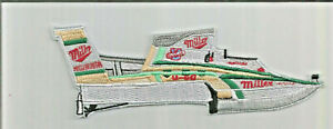 Hydroplane Miller High Life racing patch 2-1/4 X 7 #3844