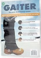NEW GAITER Lower Legs The Warm Dry Technology System gaiters SNOW SHIELD L, XL