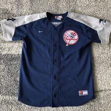 Nike Mlb New York Yankees Bobby Abreu Baseball Jersey Youth Large
